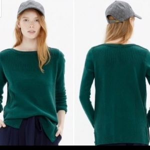 Madewell Pinewood Merino Wool Crew sweater Size S